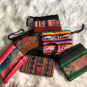 ☀️2/$20 Peru Cosmetic Bag Mini